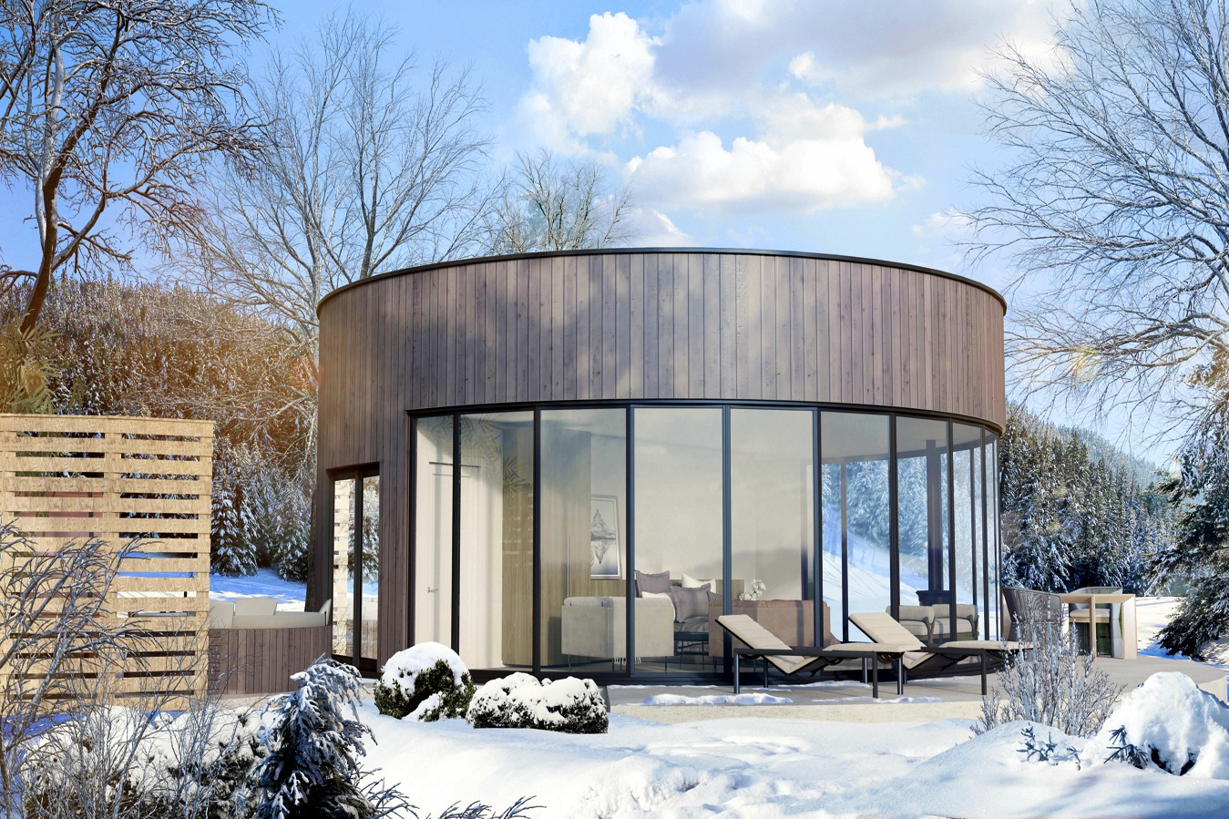 hotel in Mont Tremblant, luxury pods