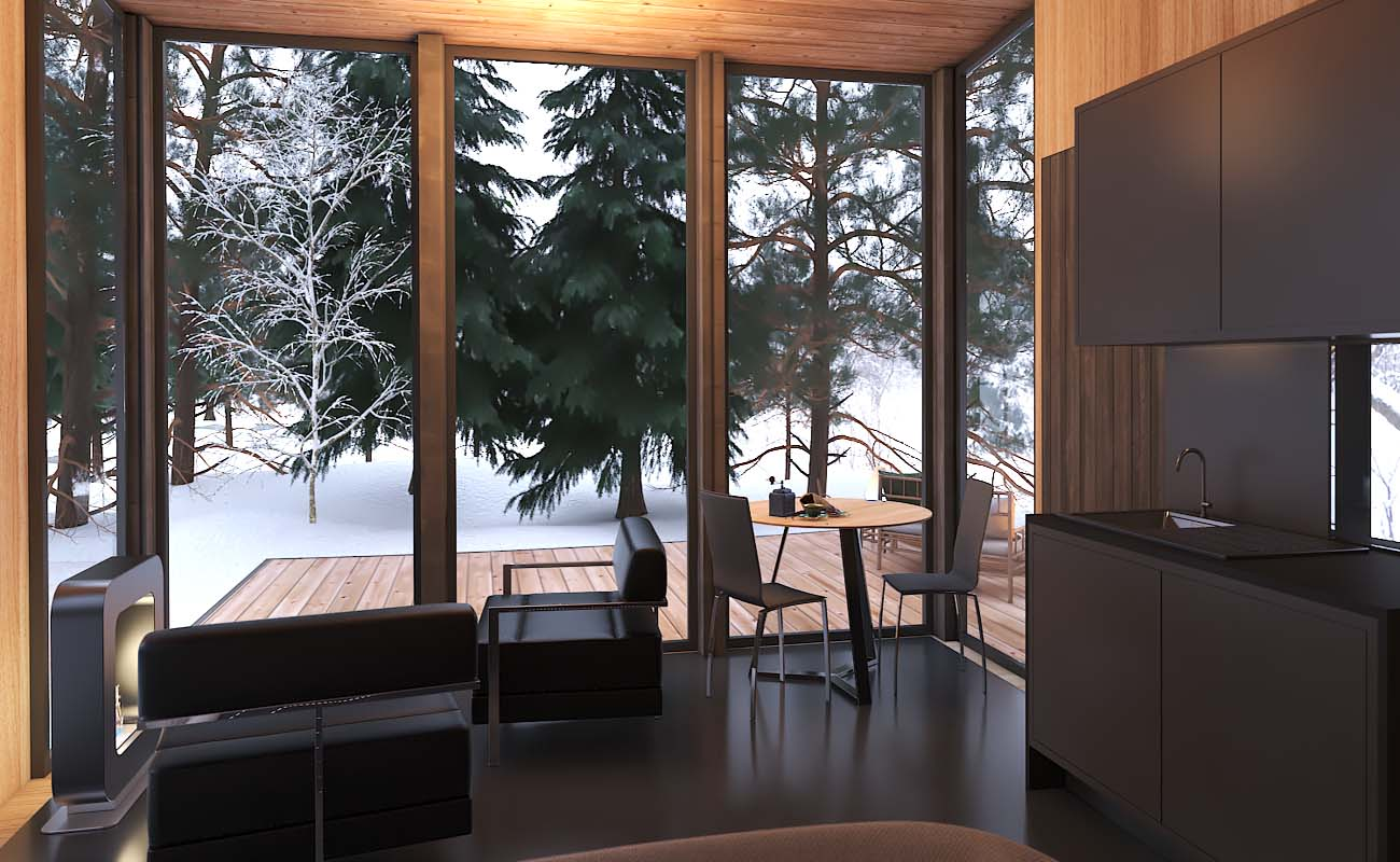 Tremblant tiny house rental