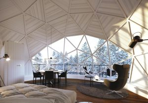 dome rental in Mont Tremblant