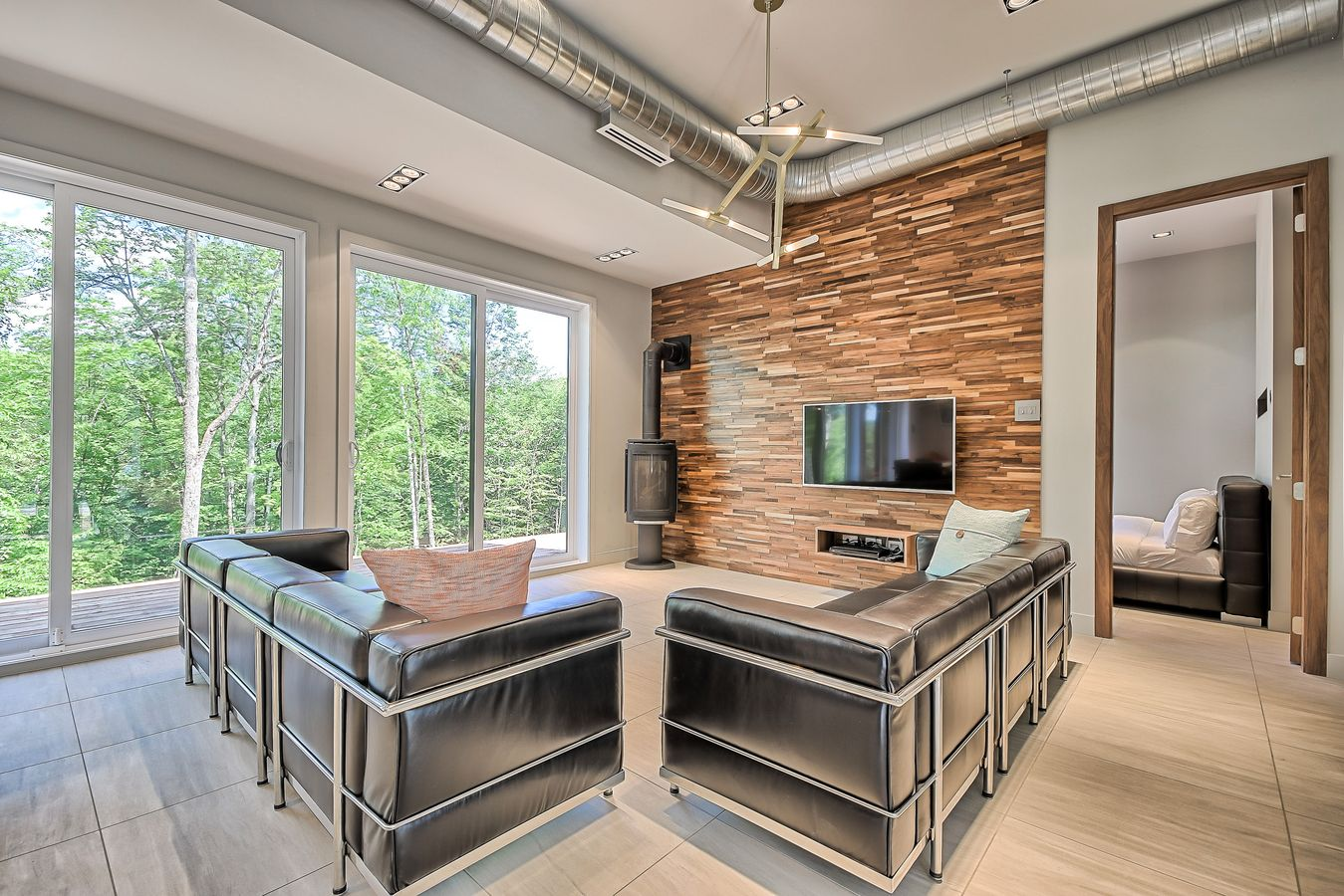 chalet in Mont Tremblant, chalet Tremblant