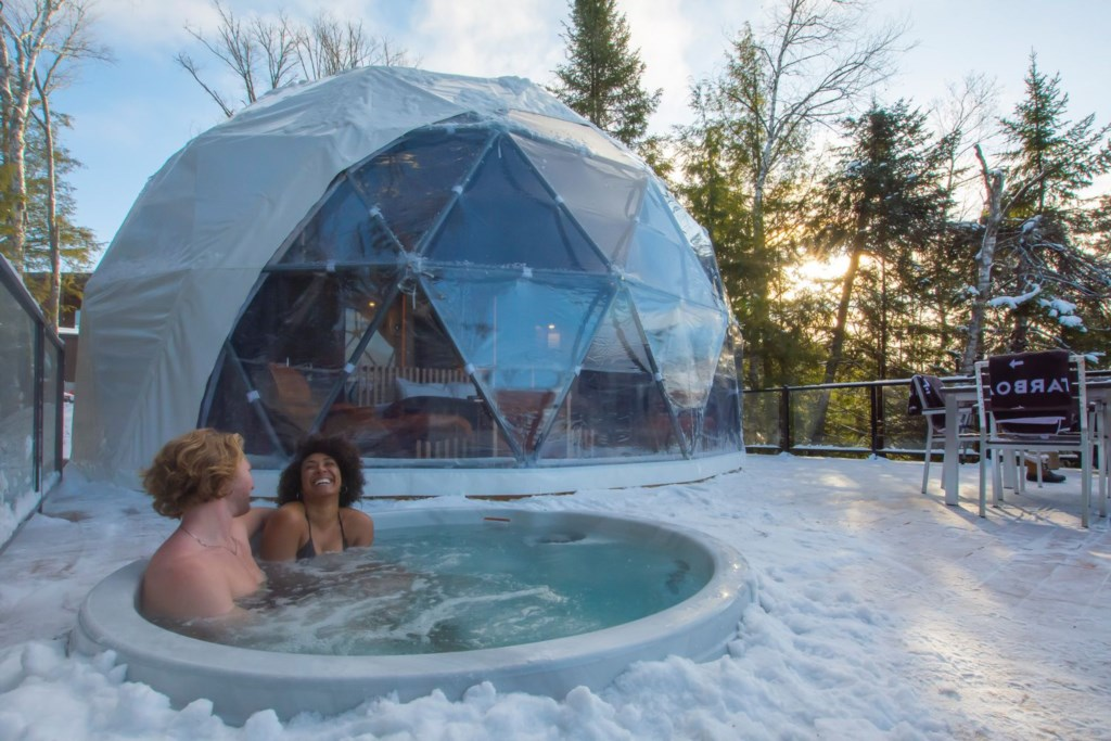 dome hotel Tremblant, Bel Air dome hotel
