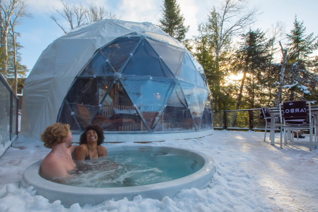 dome hotel Tremblant, Bel Air resort