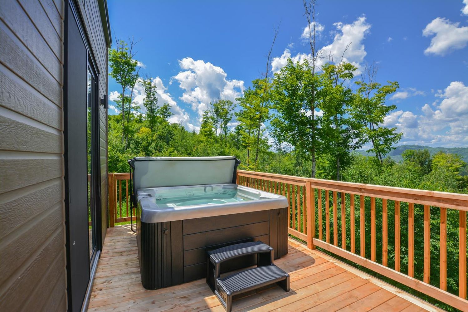 luxury chalet rental Tremblant