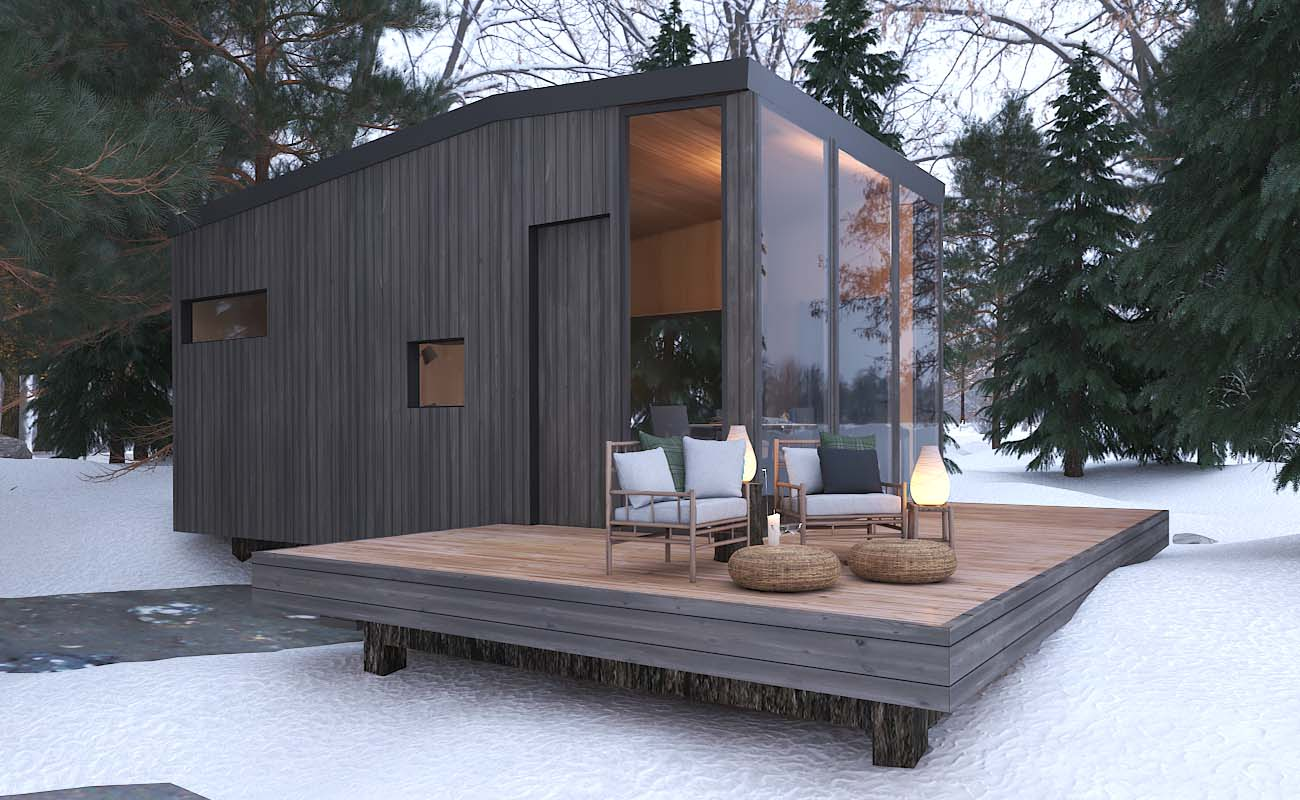 Tremblant tiny house rental