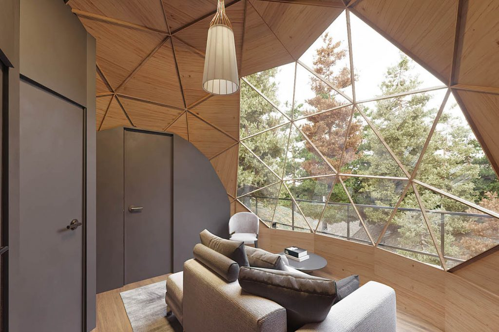 dome rental in Tremblant