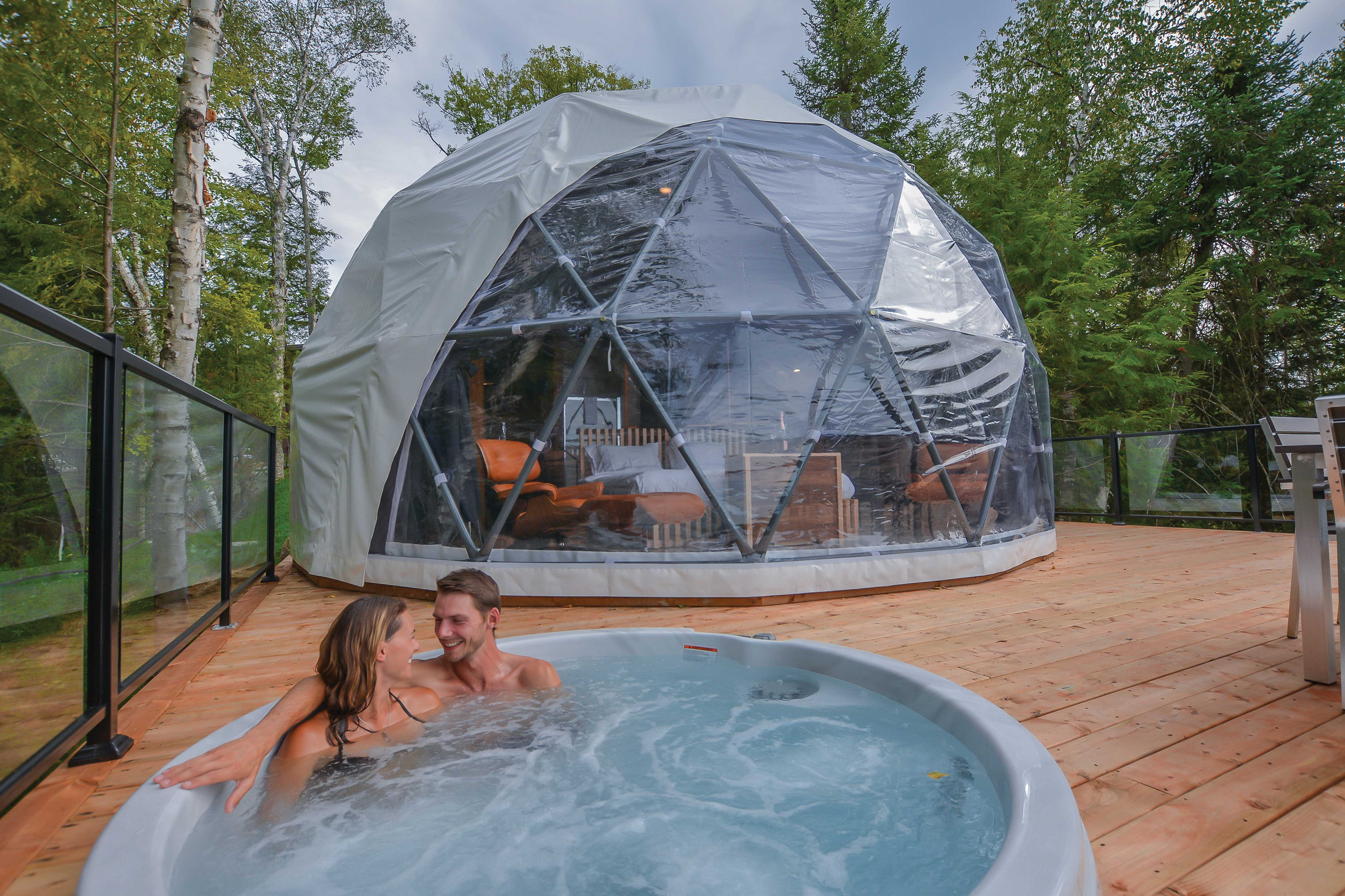 dome rental Tremblant