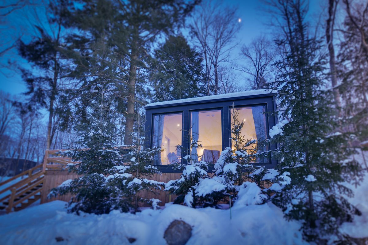 tremblant tiny house rental‬