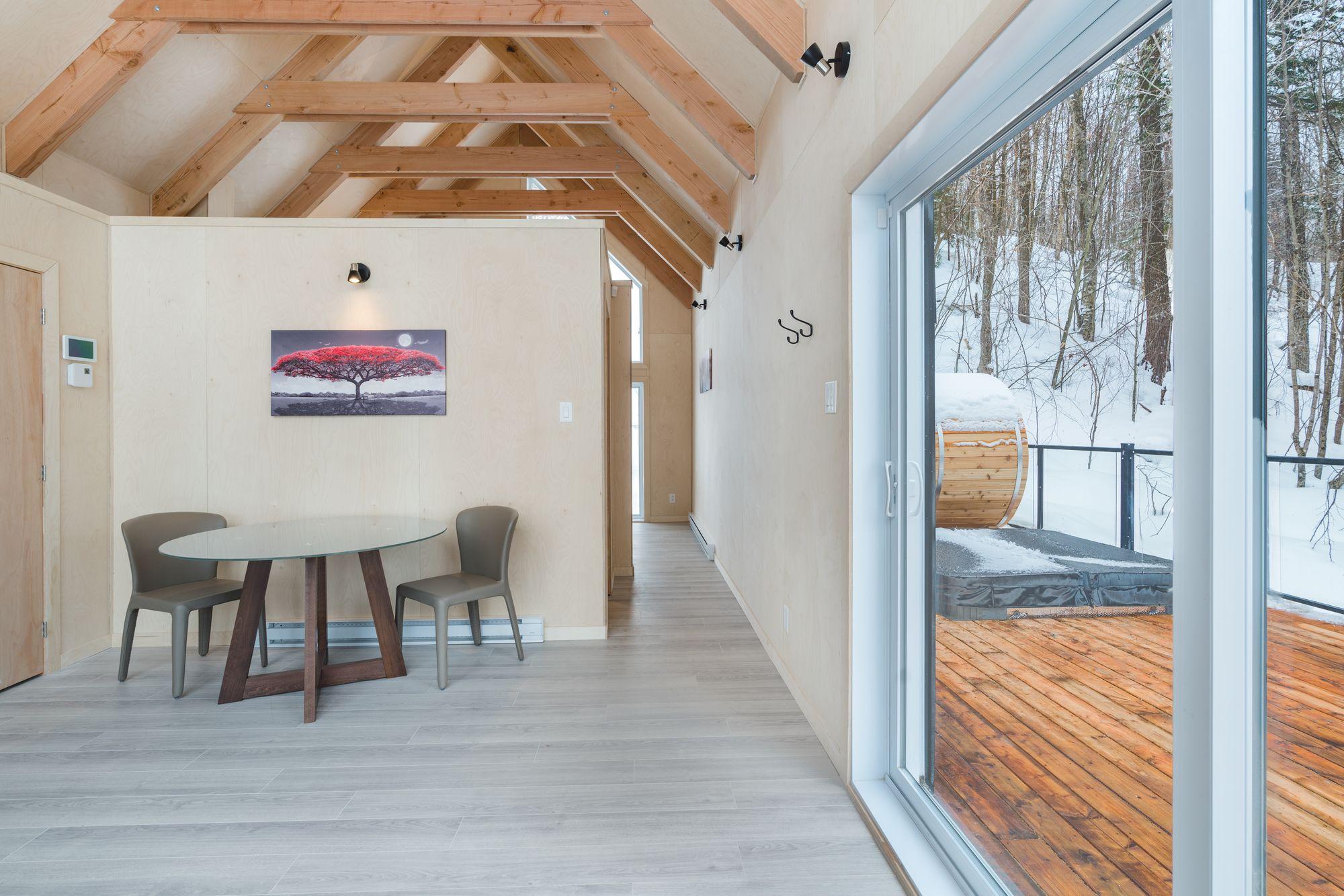 tiny house rental tremblant