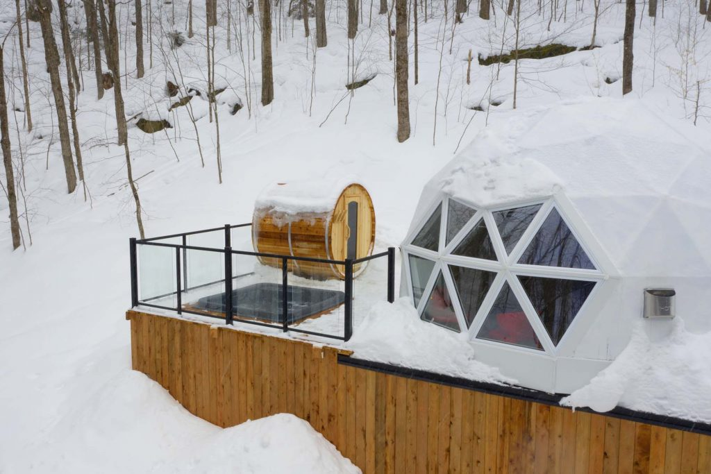 dome rentals in Tremblant